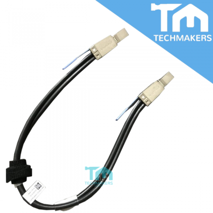 External HD Mini SAS SFF-8644 to SFF-8644 Cable High-speed Black (0.5 Meter)