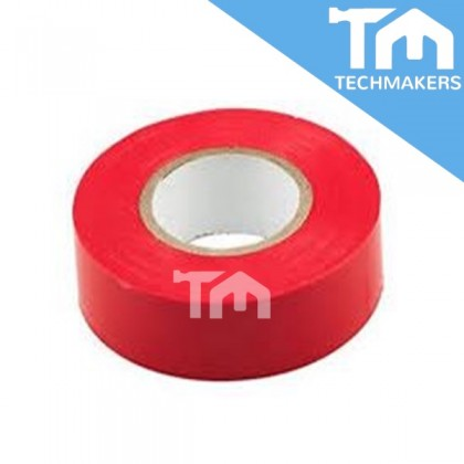 2PCS PVC Electrical Tape | Insulating Tape (Red)