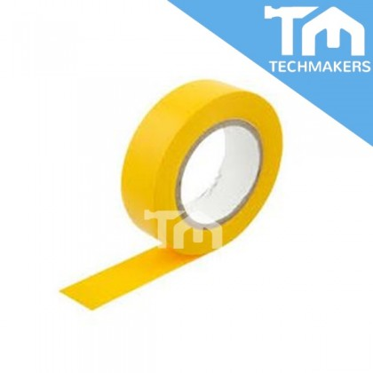 2PCS PVC Electrical Tape   Insulating Tape (Yellow)