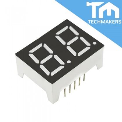2-Digit 7-Segment Display Common Cathode