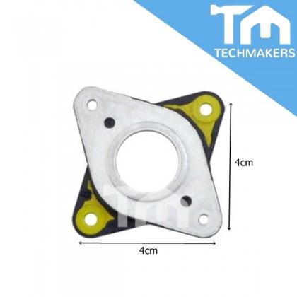 Nema 17 Stepper Motor Steel And Rubber Vibration Dampers