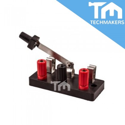 Single Pole Double Throw  (SPDT) Knife Switch