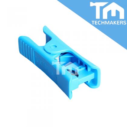 PTFE Pipe/Tube Feeding Plastic Cutter for 3D Printer to Cut Material Nylon Teflon Pneumatic Tubing/Piping Cutting Tool