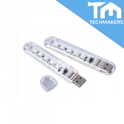 USB Colorful Lights Plug and play LED, One press to change color