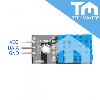 DHT11 Temperature and Humidity Sensor for Arduino Raspberry Pi IoT
