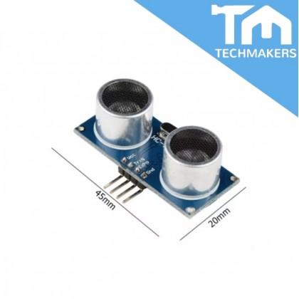 3 PCS Ultrasonic Sensor Distance Measuring Module Sensor Module HC SR04