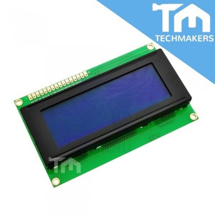 20x4 Character LCD Display Module 2004 Yellow Backlight