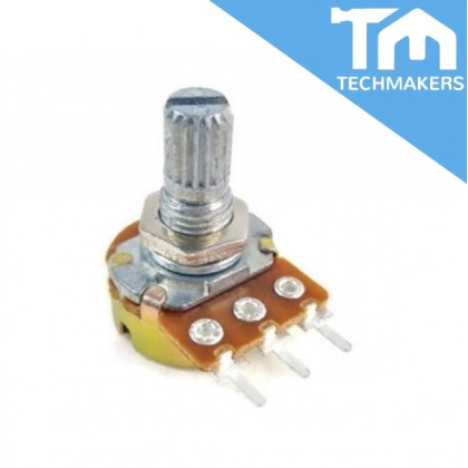 Potentiometer Single Turn WH148 Series Linear Type