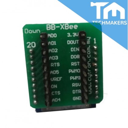 (2nd hand) XBee Pro 60mW Wire Antenna - Series 1 (802.15.4)