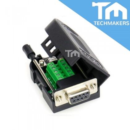 DB9 Female / Male Solderless 9 Pin Serial Port Connector Kit