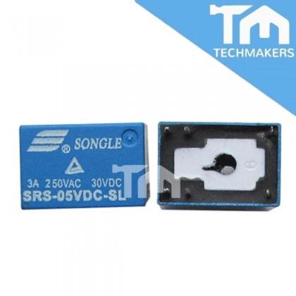 RELAY 12VDC or 24VDC (6-pins)