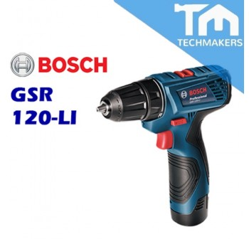 12V BOSCH GSR 120-LI Cordless Drill/Driver