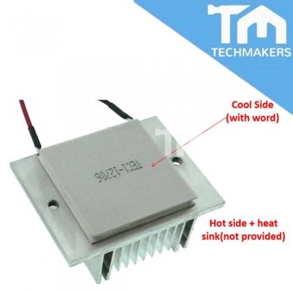 Arduino TEC1-12706 12V 60W Thermoelectric Cooler Peltier Module
