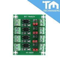 817 Optocoupler Voltage Control Switching Module 4-way Voltage Isolation Board