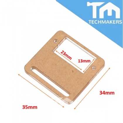 SG90 Micro RC Servo Acrylic Bracket Set