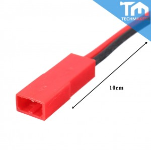 JST Connector Wire Cable 1 Pair (Male+Female)