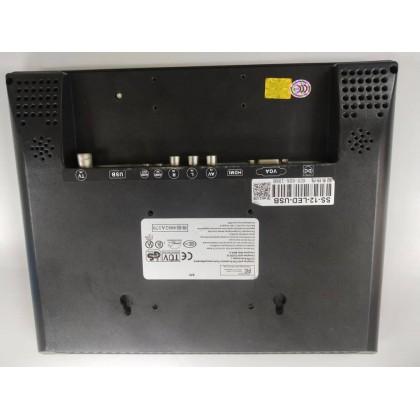 12 inch Industrial Monitor (Used) with VGA/AV/BNC/HDMI monitor for CCTV Raspberry Pi