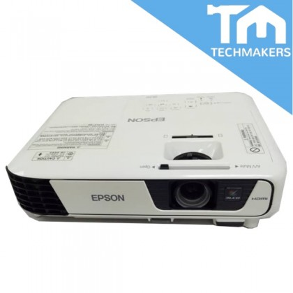 EPSON Projector EB-X31 c/w Ceiling Projector Extender Height (Used /Good Condition)