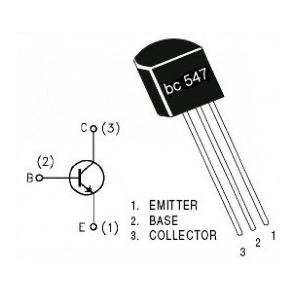 BC377 Transistor Silikon Npn STMicroelectronics Schutzhülle TO18 Machen